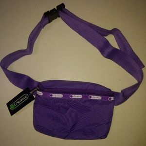 Handbags - NWT Purple LeSportsac belt bag